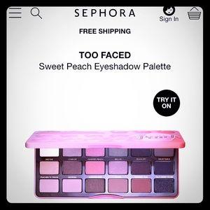 🔻PRICE DROP 🔻❗️Sweet Peach 🍑 Eyeshadow Palette